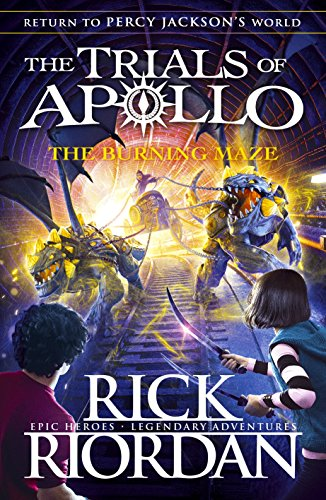 Rick Riordan's: The Burning Maze